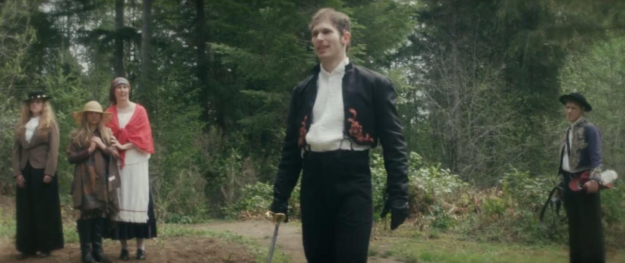 Sean Peck-Collier as Valerio in Cassandra's Castle